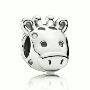 Pandora Giraffe Silver Charm